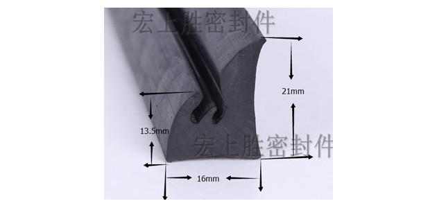 异型硅胶密封条的介绍